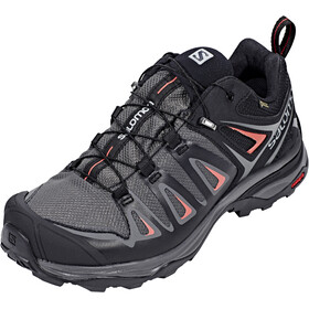 Salomon X Ultra 3 GTX Sko Damer, magnet/black/mineral red